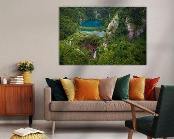 Watervallen van Plitvice van Antwan Janssen