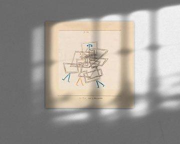 Drei in Verworrenheit, Paul Klee, 1930