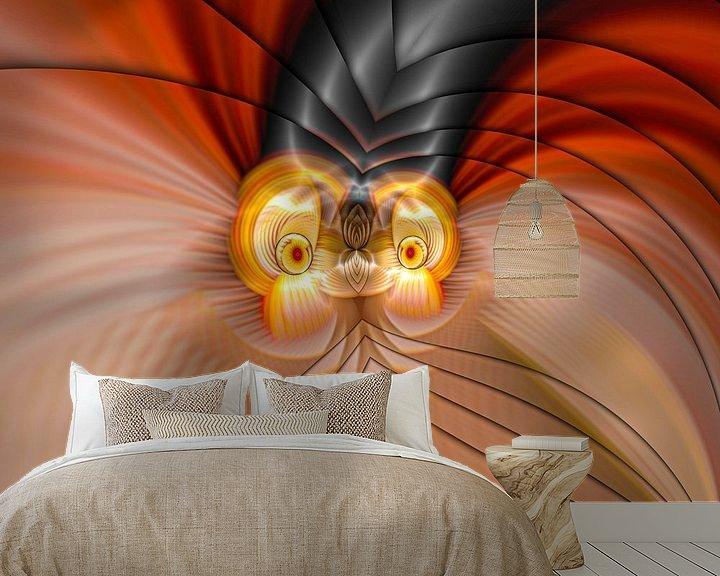 Beispiel fototapete: Phantasievolle abstrakte Twirl-Illustration 109/29 von PICTURES MAKE MOMENTS