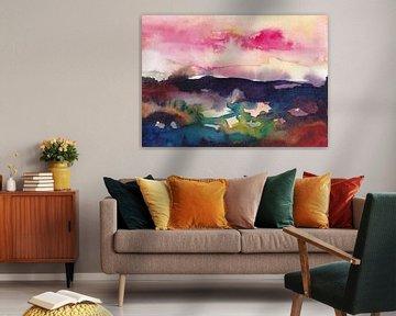 Autumn Horizons van Maria Kitano
