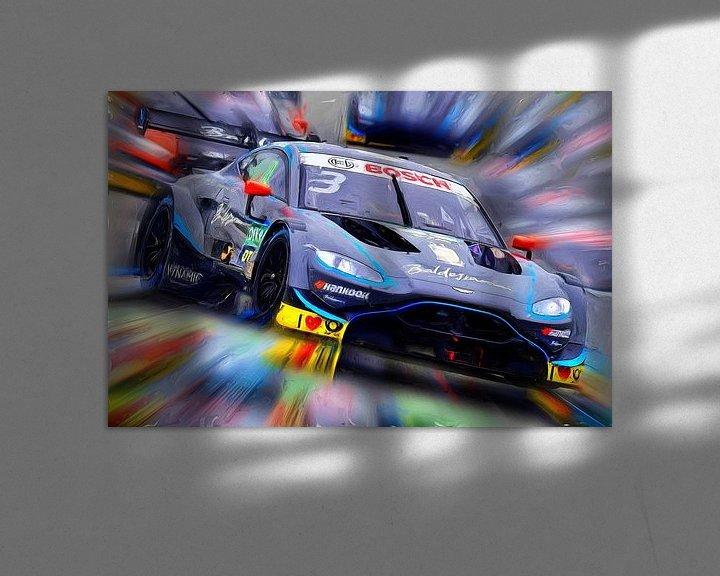 Beispiel: Aston Martin on the Race Track von Jean-Louis Glineur alias DeVerviers