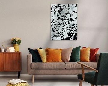Abstracte samenstelling 1059 van Angel Estevez