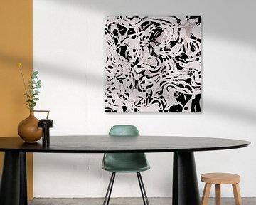 Abstracte samenstelling 1057 van Angel Estevez