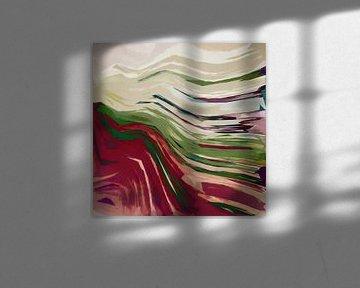 Abstracte samenstelling 1060 van Angel Estevez
