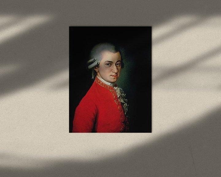 Sfeerimpressie: Wolfgang Amadeus Mozart, 1818