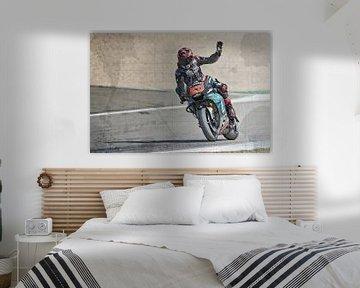 Fabio Quartararo #20 Motul TT Assen van Theo Groote