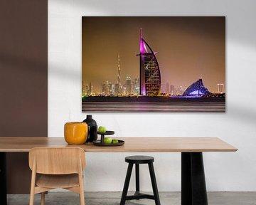 Burj al Arabisch Dubai van Michael Blankennagel