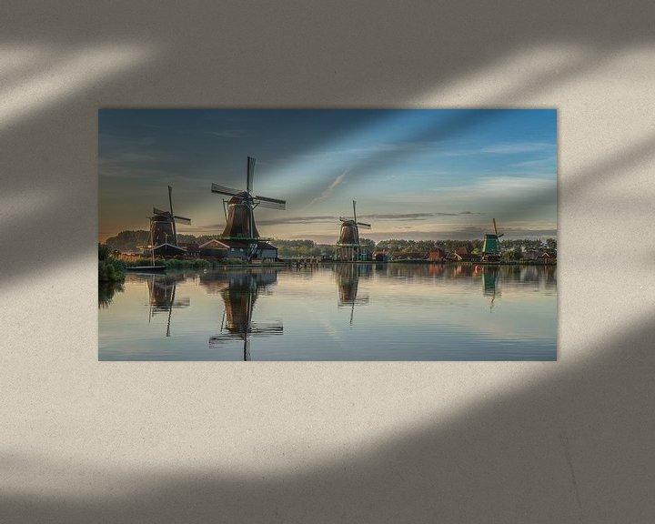 Sfeerimpressie: Zaanse Schans van Photo Wall Decoration