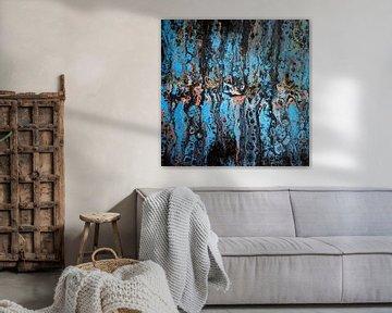 Metallic Blue van Yvonne Smits