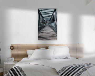 Brücke in Hamburg von Laurenz Heymann