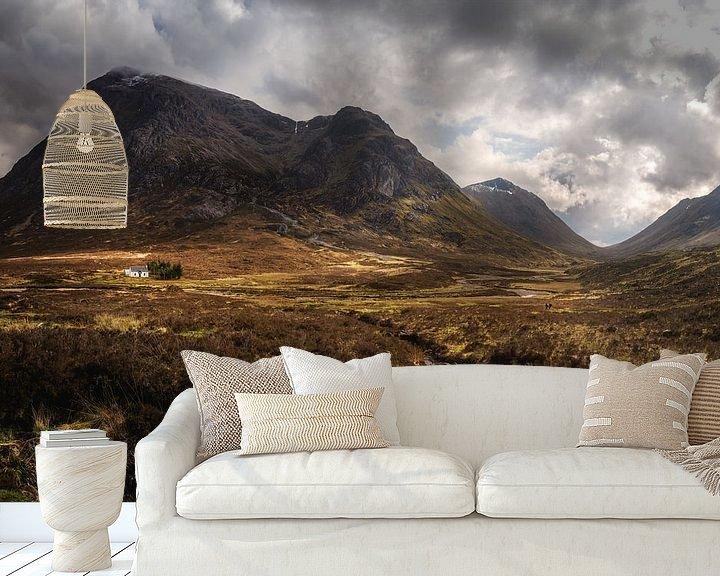 Beispiel fototapete: Glencoe (Highlands) von Markus Stauffer
