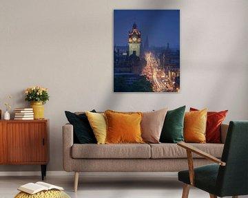 Balmoral Bell Tower, Edinburgh van Markus Stauffer