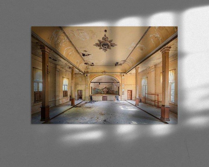 Beispiel: verlassener Ballsaal von Kristof Ven