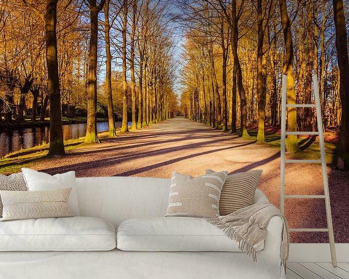 Sfeerimpressie behang: Landgoed Groeneveld van Jaap Mulder