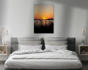 Niederländischer Sonnenuntergang von Marion Moerland