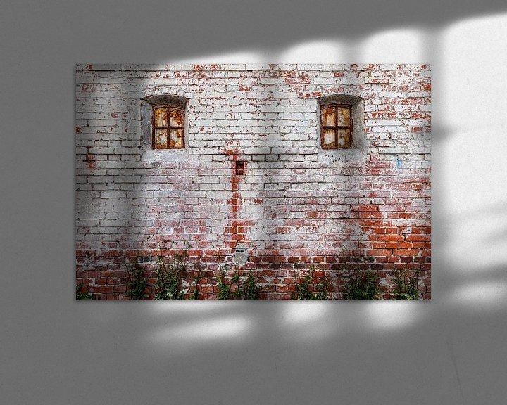 Beispiel: Alte Ziegelmauer von Anjo ten Kate