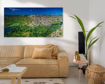 Panorama Krka van Antwan Janssen