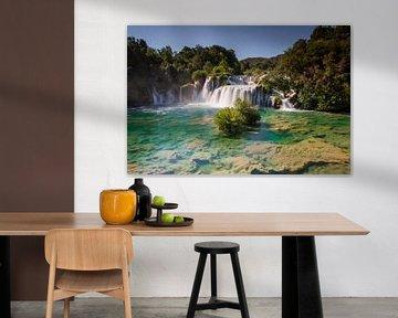 KRKA-Wasserfall von Antwan Janssen