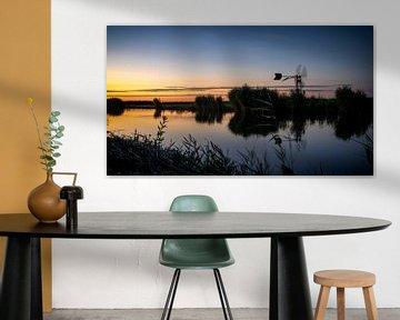 Im Wormer und Jisperveld geht die Sonne auf von Studio de Waay