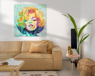 Marilyn Monroe van Nicole Habets