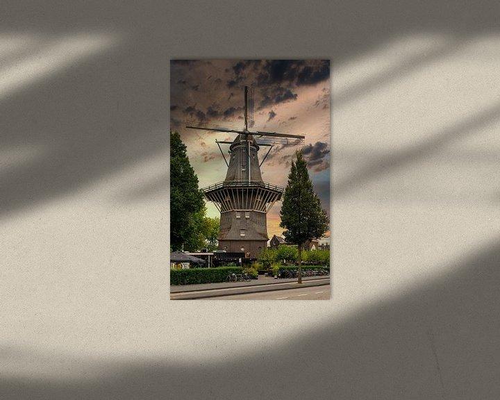 Sfeerimpressie: Stellingmolen De Gooyer van Foto Amsterdam/ Peter Bartelings