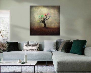 kleurenboom van Dirk Wüstenhagen