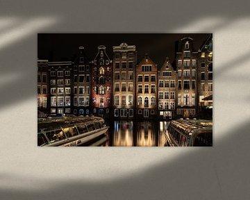 Amsterdam Damrak von Erika Schouten