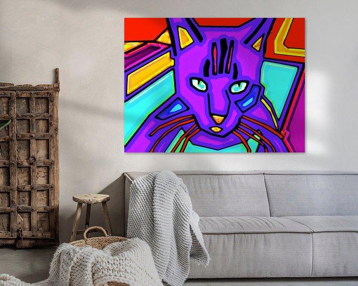 Beispiel: Andy Warhols Katze von McRoa