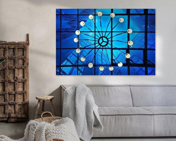 Sfeerimpressie: Vooruitzicht: Lichte regen, blauwe lucht van Mike Bing