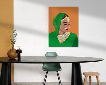 SPICE girl. van YOPIE illustraties