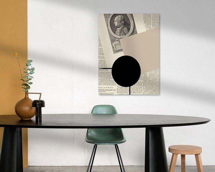Sfeerimpressie: Abstract Paper V van YOPIE illustraties