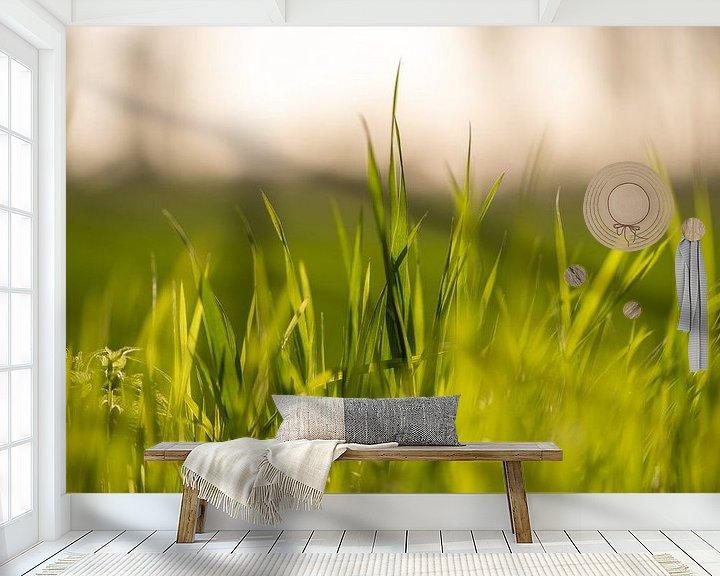 Beispiel fototapete: Gras von Florian Kampes