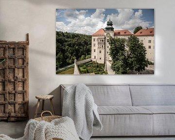 kasteel pieskowa in Polen van Eric van Nieuwland