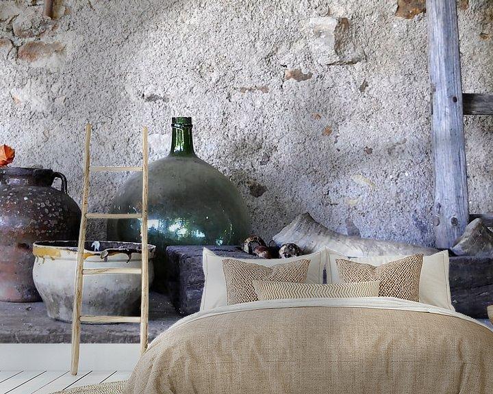 Sfeerimpressie behang: Stilleven op het Franse platteland van Affect Fotografie