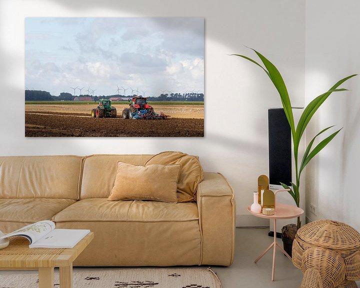 Beispiel: Landwirte und Land von Anjo ten Kate