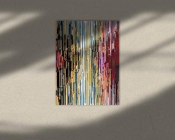 Abstracte samenstelling 762 van Angel Estevez