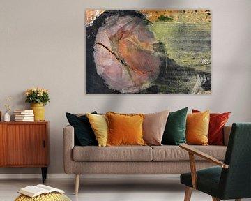Abstracte wereld in kleur van Sia Windig