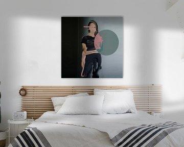 contemporary portret van Carla Van Iersel