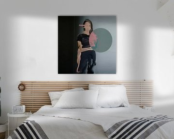zeitgenössisches Porträt von Carla Van Iersel
