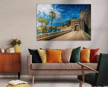Poort naar Dubrovnik van Antwan Janssen