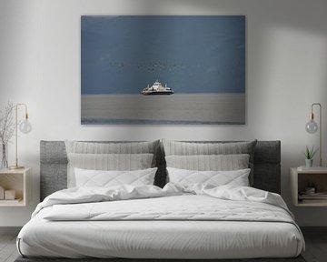 Ferry in Noorwegen sur Gerben van den Hazel
