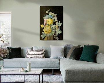 Meisje met de Parel - The Yellow Roses Edition II van Marja van den Hurk
