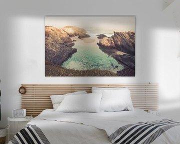 Wilde kust Portugal - rotsachtige branding van FOTOFOLIO.DE