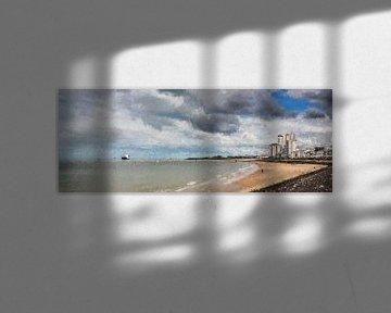 Panoramagemälde von Vlissingen (Zeeland) von Art by Jeronimo