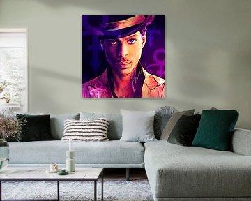 PopArt kunstwerk van Prince van Martin Melis