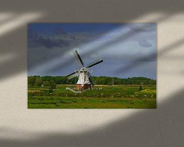 Moulin à vent néerlandais / Dutch windmill sur Joyce Derksen