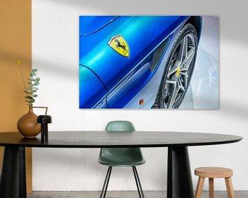 Ferrari California T cabriolet sportwagen detail van Sjoerd van der Wal