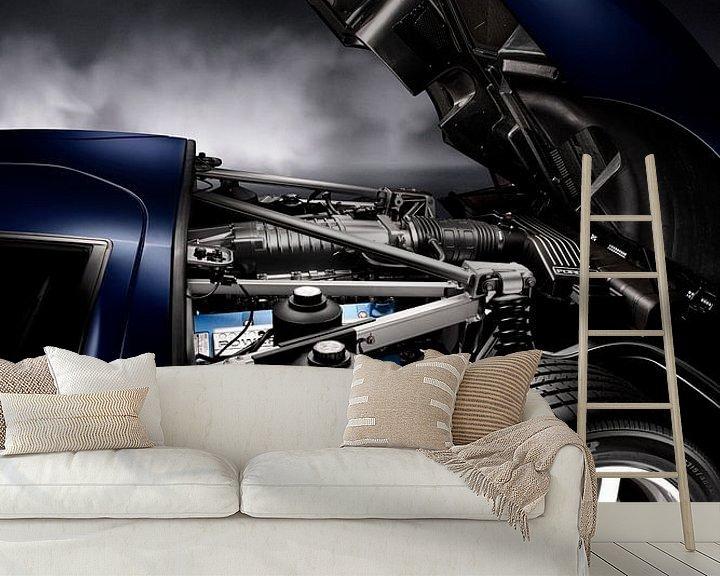 Sfeerimpressie behang: Ford GT '101 Edition GT40 van Thomas Boudewijn