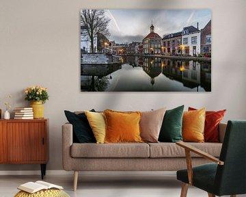 Het historische centrum van Schiedam. van Claudio Duarte