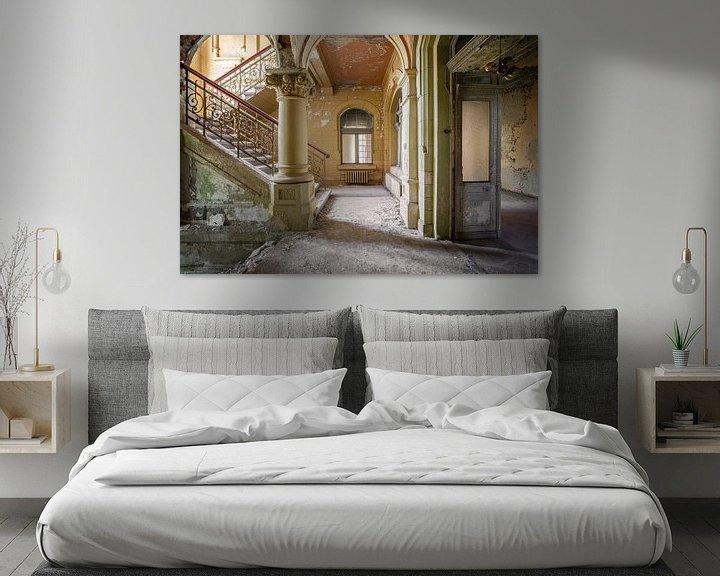 Beispiel: eindrucksvolle verlassene Treppe von Kristof Ven